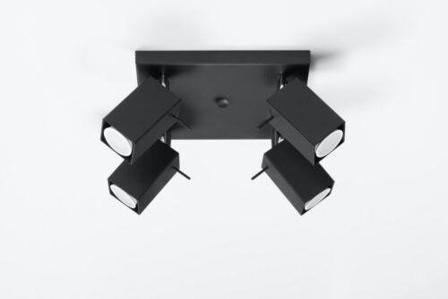 Deckenlampe Toscana 4 Schwarz Deckenleuchte Leuchte Lampe Beleuchtung Design