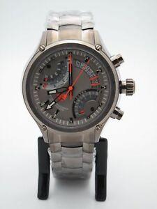 da13f6d4b719 La imagen se está cargando Reloj-Timex -Tx-Hombre-Cronografo-Flyback-Gunmetal-brujula-