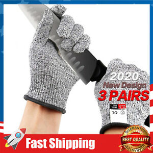 Cut Resistant Gloves,Food Grade Level 5 Protectio,for Meat Cuttin Processing 3X