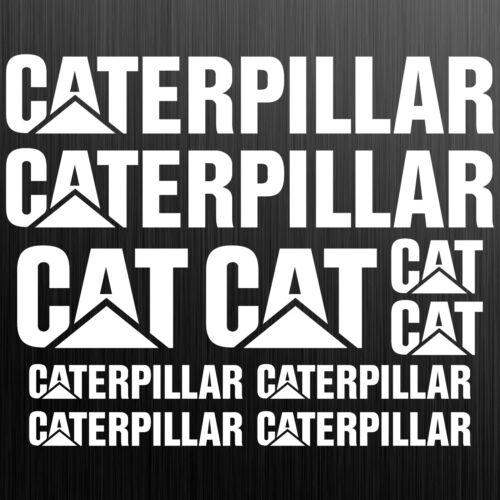 Caterpillar CAT XXL adesivi sticker excavatrice 10 Pezzi