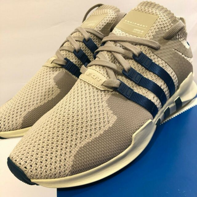 new arrival 3148c 849c3 Adidas EQT Support ADV Primeknit Clear Brown Blue Night Running Shoes BY9393