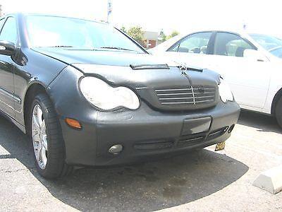 Fits Mercedes-Benz C230 Sedan 02-04 W//Tag W//washr Colgan Front End Mask Bra 2pc