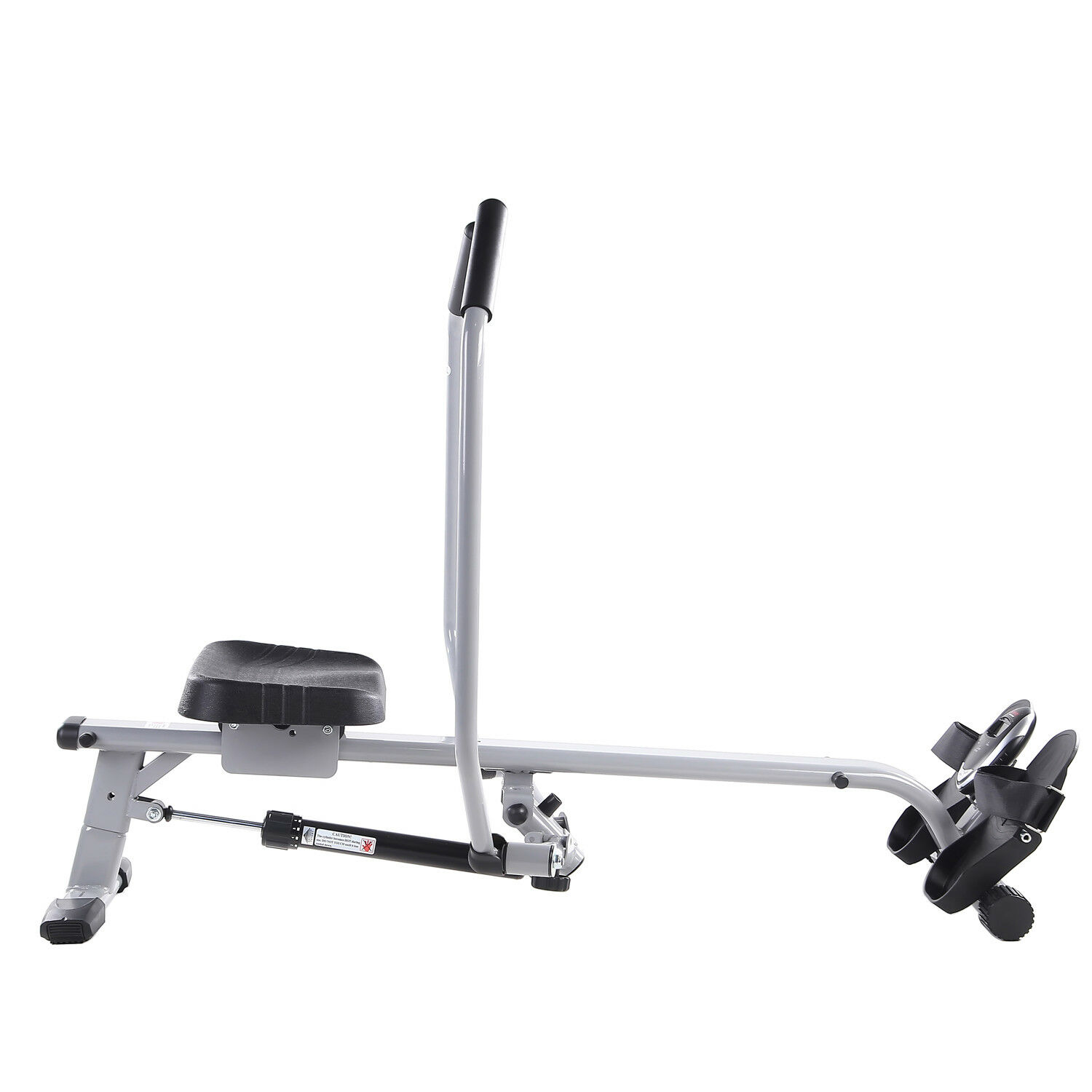 Sunny Health and Fitness Full Motion Rowing Machine Rower with 350lb Capacity an 5