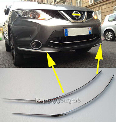Generic Fit For Nissan QASHQAI 2014-2017 2018 Chrome Door Handle Cover Trims
