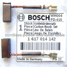 Bosch GBH 36V & VF SDS Drill Carbon Brushes Genuine Original Part 1 617 014 142
