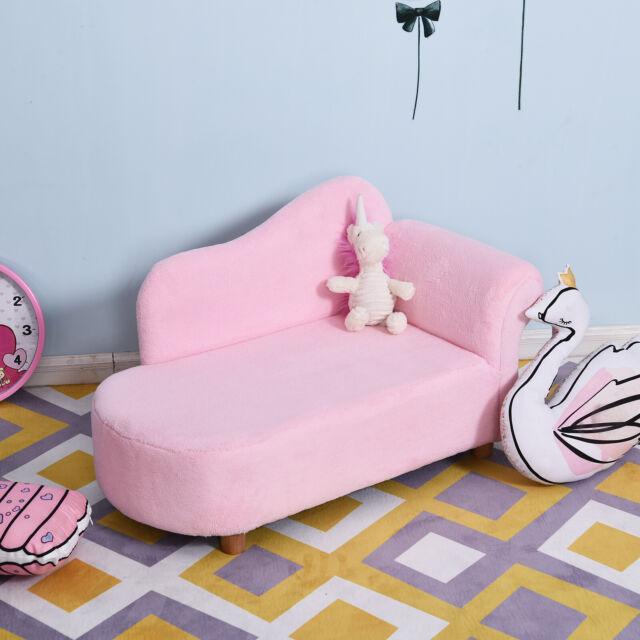 Homcom Kinder Chaiselongue Kindersessel Softsofa Kinderzimmer