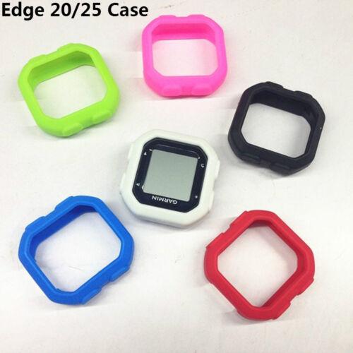 Bike Silicone Rubber Case /& Film for Garmin Edge 200 500 800 810 520 820 1000 25
