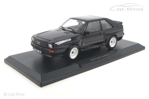 Norev 1:18 188315 Audi Sport quattro 1985 schwarz