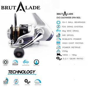 Fishing-Reels-EVO-2000-Superior-Value-amp-Quality-Big-Brand-Quality-Brutalade