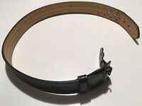 Adjustable Black Duty Belt With Hidden Buckle, Leather,gould & Goodrich, Size 34