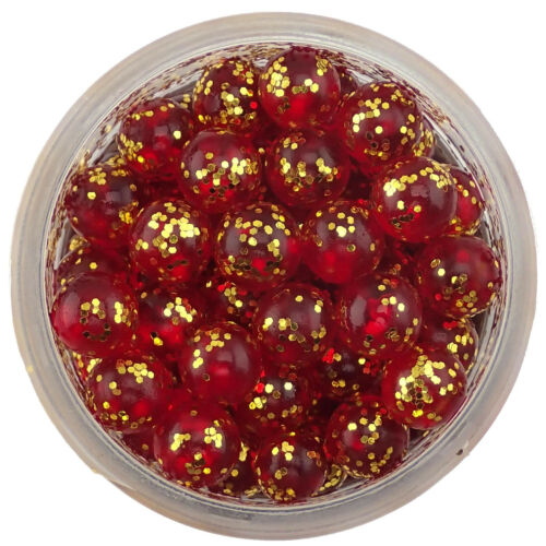 Fire Balls Scented Artificial Salmon Eggs Trout Fishing Bait Pautzke Bait Co