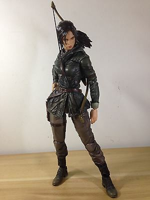 Authentic Square Enix PlayArts Tomb Raider Rise Lara Croft Action Figure no box