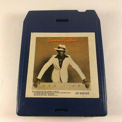 David Ruffin ‎– Who I Am Vg 8-track Cartridge Soul Funk Disco Motown Activating Blood Circulation And Strengthening Sinews And Bones Music
