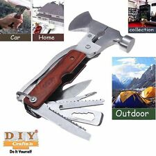 DIY Crafts®Work Multifunctional Plier Ax/Screwdriver/Safety Hammer/Camping Tooll