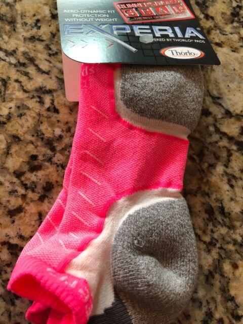 Thorlos Experia Lite Running Socks Lightweight Performance Racing Sock UK 3-13