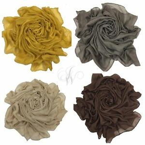 femmes-souple-MAXI-UNI-Viscose-RAYON-Echarpe-Echarpe-hijab-SARONG-enveloppant