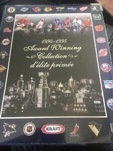 1997-1998-Post-NHLPA-World-039-s-Best-Pinnacle-Hockey-Card-Set-in-BINDER