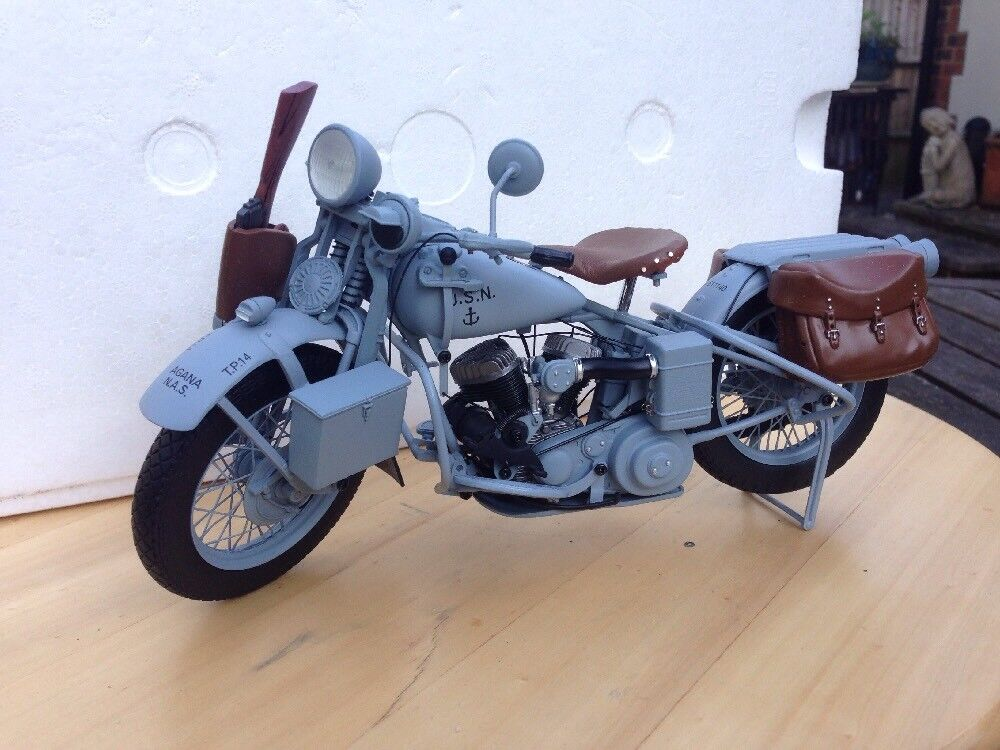 Franklin Comme neuf wla US Navy WW2 Harley Davidson Andouille 1 10