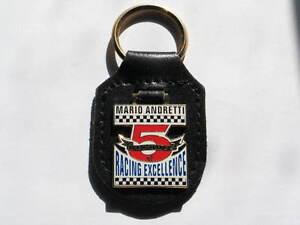 Kraftvoll Mario Andretti 5 Decades Of Racing Excellence Schlüsselanhänger,leder Bequemes GefüHl Automobilia