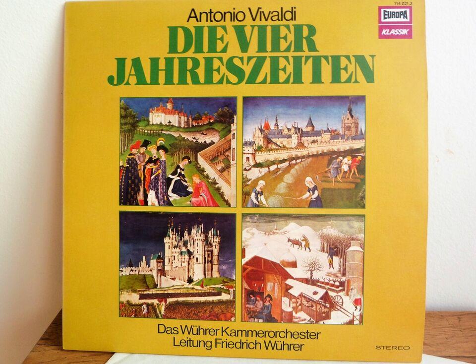 LP, Antonio Vivaldi, De fire årstider