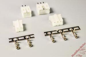 5x-PH-E-flite-Buchsenleiste-Stiftwanne-Crimpset-Bausatz-2-3-polig
