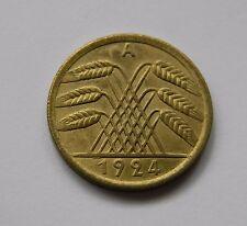 WEIMAR: 50 Rentenpfennig 1924 A, J. 310, stempelglanz, SELTEN !!!