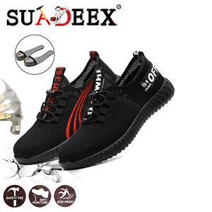 Scarpe-antinfortunistica-Uomo-S3-SRC-Scarpe-da-lavoro-ginnastica-leggere-running