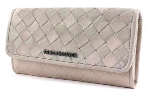 FREDsBRUDER Checker Chess Wallet Geldbörse Dirty Vanilla Grau Neu