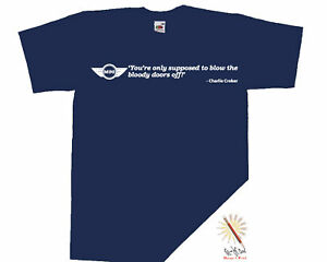 MINI-COOPER-t-shirt-ITALIAN-JOB-blow-doors-off-S-XXXL