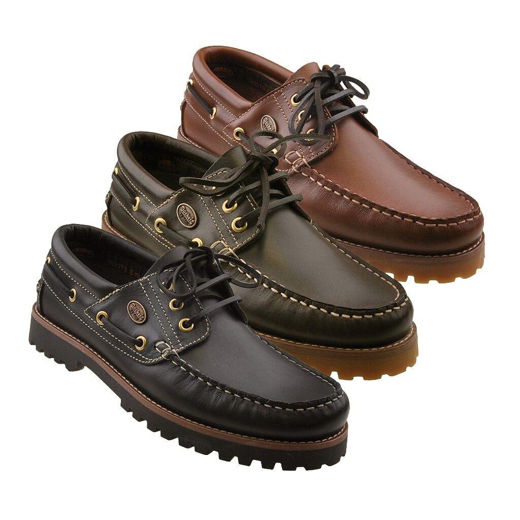 DOCKERS LEDER Segelschuhe Damenschuhe Stiefelschuhe Mokassins Halbschuhe Schuhe    Zahlreiche In Vielfalt