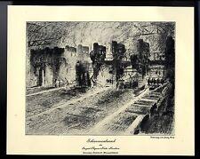 Schienenwalzwerk der August-Thyssen-Hütte Hamborn von Franz Graf 1929