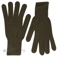 Web Tex Thermal Liner Gloves Acrylic Olive Green Warm Kit Stretch