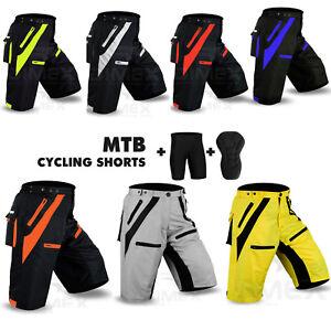 Mtb-cyclisme-court-off-road-cycle-anti-Bac-CoolMax-rembourre-liner-shorts-dimex-nouveau