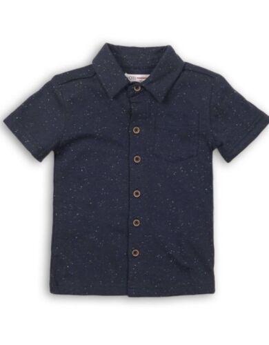 MINOTI Ragazzi Speckled Jersey Mezza Manica Maglietta TG 3//4yrs a 7//8 anni *