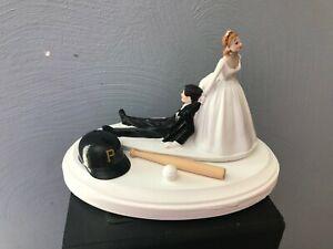 Pittsburgh-Pirates-Cake-Topper-Bride-Groom-Wedding-day-Funny-Baseball-Theme