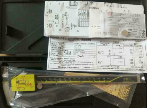 "0-8/""// 0-200mm Absolute Digimatic Caliper Mitutoyo 500-197-30 NEW 0.0005/""//0.01"