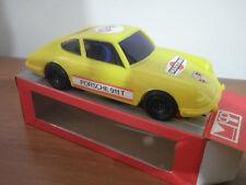 REEL  PORSCHE 911 S  Colore GIALLO  Auto a molla 1:24 Made in ITALY