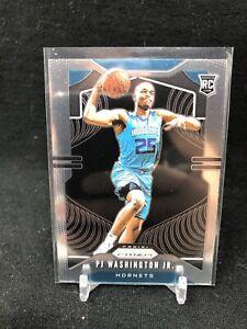 2019-20-Panini-Prizm-PJ-Washington-Jr-258-Base-RC-Rookie-Hornets-H37