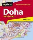Doha Mini Map by Explorer Publishing (Sheet map, folded, 2015)