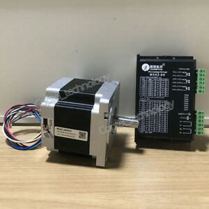 New-Leadshine-2-phase-Stepper-Set-Drive-Motor-86HS45-M542-05-4-5Nm-4-2A
