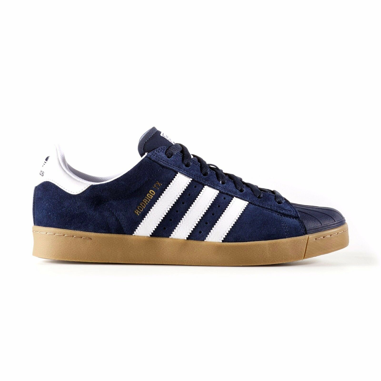 separation shoes 928ac da3dd Adidas - Superstar Vulc ADV - Rodrigo TX   B27391 Mens Skate Shoes - Navy