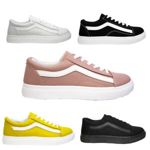Basse Donna Tela Old Da Colori Vari Sneakers Ginnastica Scarpe In 74wxTEE