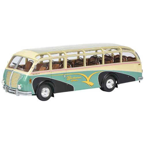 SAURER 3C-H BUS BACHMANN 1:43 Schuco Autobus Die Cast Modellino