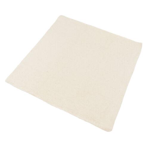 5x Blank Cotton Monk/'s Tuch Reserve Aida Tuch Für DIY Punch Needle Fabric