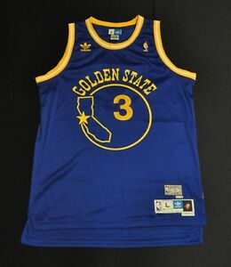 899aa8d5099f AL HARRINGTON Golden State Warriors HWC Jersey Blue Adidas Swingman ...