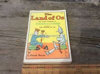 L. Frank Baum The Land Of Oz The Further Adventures Of The Scarecrow & Tin Man