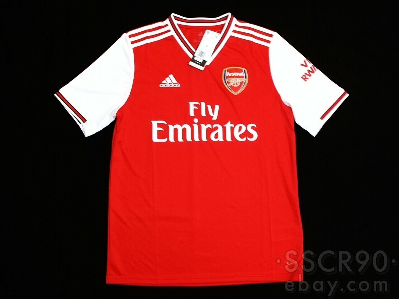 adidas Arsenal Home Red Soccer Jersey Youth Size XL Eh5644 for ...