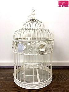 30cm-Dia-Wishing-Well-Bird-Cage-Wedding-Card-Keeper-Post-Box-JB1087L