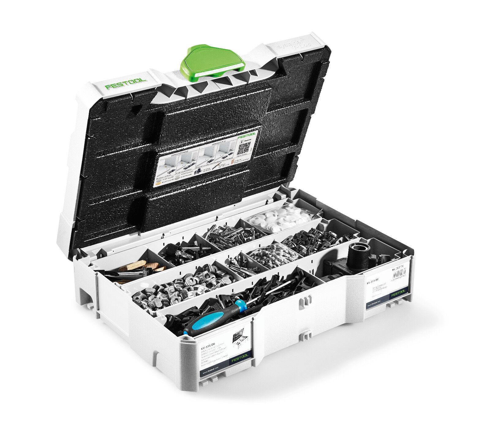 FESTOOL DOMINO Verbinder Sortiment KV-SYS D8 203170