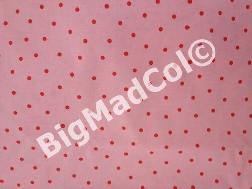 Ikea Cath Kidston Rosali Paisley Floral Dots Checked Fabric Material Pink Blue